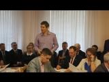Моё выступление на Горсовете 12 апреля о том, почему нельзя строить завод ПВХ-покрытий в черте города Орла!