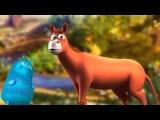 Мультики - Загадки про Животных - Прыг и Скок - Лошадь