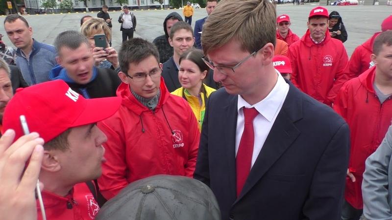 Единая Россия проиграла в Ульяновске (Долой Морозова!)