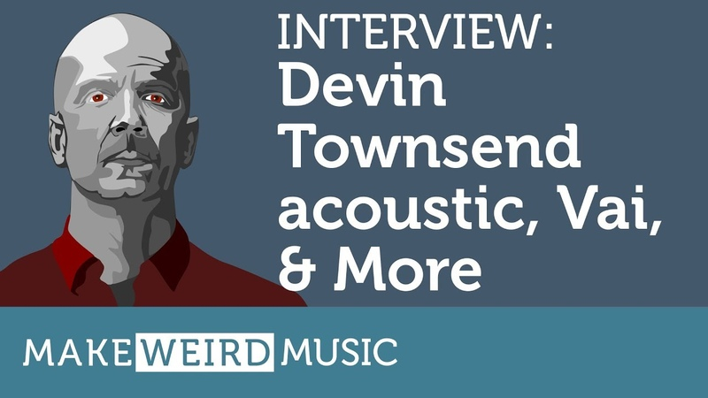 Interview: Devin Townsend on Steve Vai, new acoustic, X-JAMM More