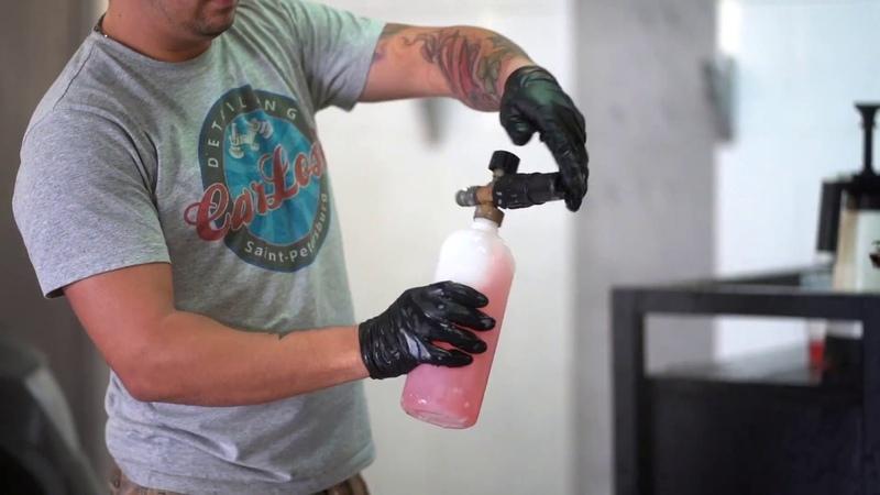 Подготовка к защитному покрытию кузова керамикой от CarLosk