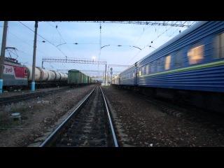 ЧС7-033 с фирменным поездом №3