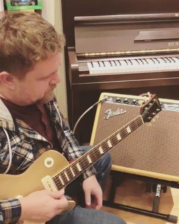 "Dennis V Epov on Instagram @alferovcustom gibson guitarplayer guitars amp"""