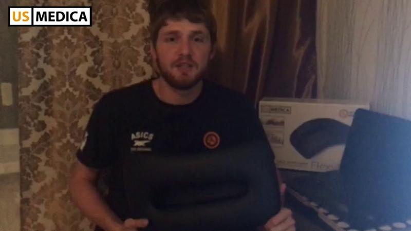 Видео отзыв Тренажер для растяжки спины US MEDICA FlexyBack