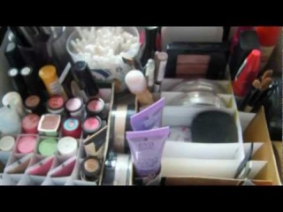 Организация и хранение моей косметики Ч.1 / Моя коллекция косметики