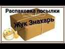 Распаковка посылки с жуком Знахарем Инсектарий