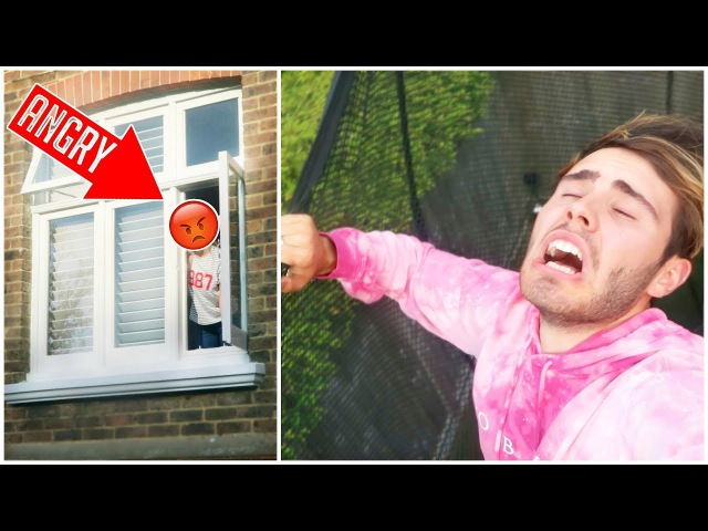 ANNOYING MY NEIGHBOUR!!