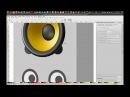 Creation process of Rhythmbox icon for FS Icons Ubuntu Icon Pack