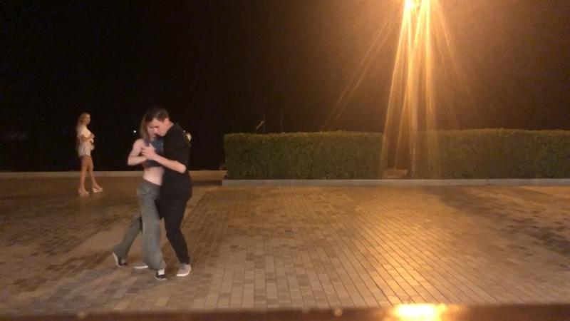 Танго на набережной с Кириллом 1