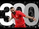 Karim Benzema 300 career goals 2006 2019