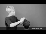 Мужская градуированная лесенка | Асимметричная чёлка | Anna Eshwood