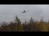 Посадка в дождь самолета Airbus A321 Кольцово Екатеринбург SVX