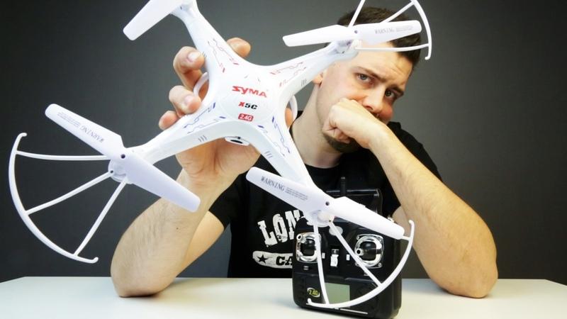 Квадрокоптер SYMA X5C с AliExpress