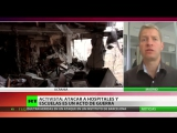 My interview with RT Spain on the humanitarian catastrophe in Donbass