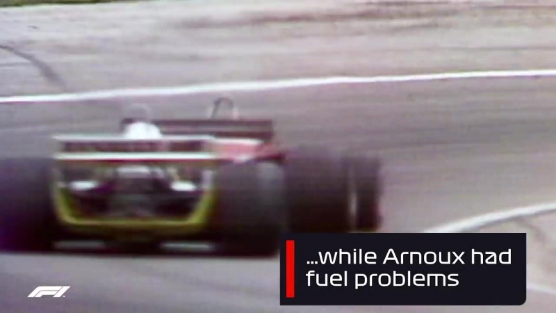 Одно из самых эпичных сражений в истории «Формулы-1» французы Рене Арну и Жиль Вильнев на домашнем Гран-при в 1979-м.