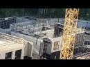 ЖК Эталон-Сити (включая башни Токио ). Строительство детсада. Первый этаж окончательно перекроют наверное через неделю уже.