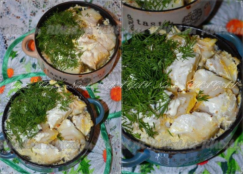 Рецепт рыбы с картошкой в горшочке - вашему вниманию.