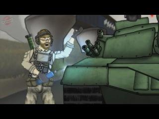Друзья по Battlefield – Музыкальные танки (4 сезон, 12 серия) – (Battlefield Friends на русском языке) / PlayGround.ru