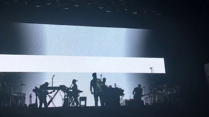 Massive Attack Angel @ Park Live 2018 Moscow