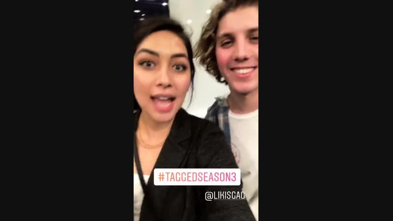 Lulu Antariksa and Lukas Gage