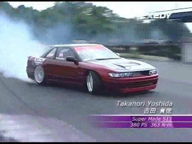 RB WORKS — EXEDY RACING CLUTCH x SuperMade: 吉田貴徳 S13 シルビアドリフト
