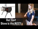 Colorado Made Tent Stove -Alpine Stove - Colorado Cylinder Stoves - Our Journey :: Episode 90