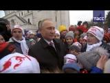 Что спросили школьники у Путина