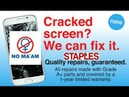 Staples Can Change Your Cracked iPhone Screen....But Should They?