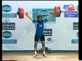 Zlatan Vanev 85kg BUL 2003 European Weightlifting Championships Champion