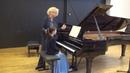 11 23 2018 M Marchenko's master class A Dovgan' С Debussy Children's Corner EAMT Tallinn