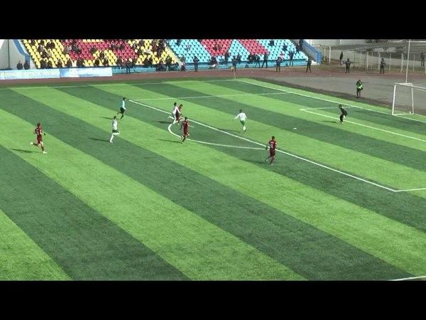 Эпизод с неназначенным пенальти в матче «Кызыл-Жар» - «Атырау»
