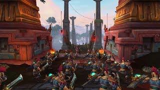 Внутриигровой ролик Принцесса Таланджи | Battle for Azeroth