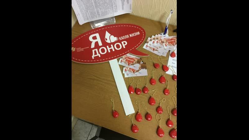 Всемирный день донора крови в Мурманске 14.06.2019