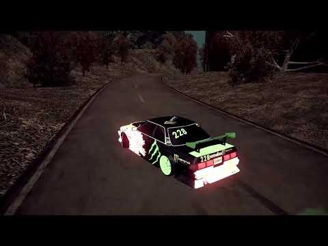 Drift Paradise movie | Black monster | Mark 81 |