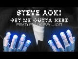 Steve Aoki feat. Flux Pavilion - Get Me Outta Here (Cover Art)