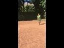 Backhand footwork