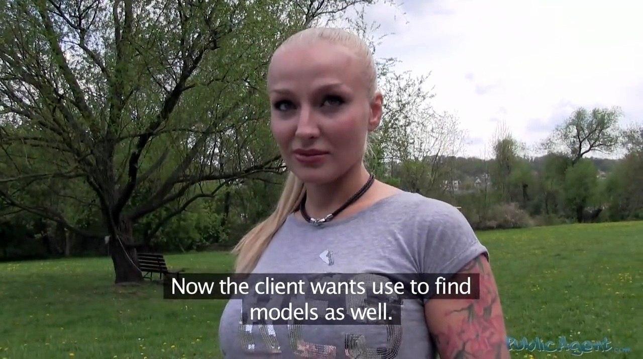 PublicAgent Kayla Green E296 Гламурная блондинка с большими сиськами