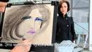 Графический портрет, пастель. Олег Беседин, авторское кредо