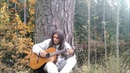 Sitting by the Calm river - Michael Lotus guitar improvisation