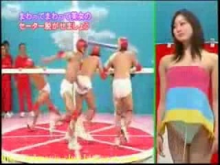 full xxx sex sexy crazy japanese game show   undress girl, l