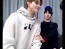 Just here to remind y'all jungwoo tried kissing doyoung on live broadcast