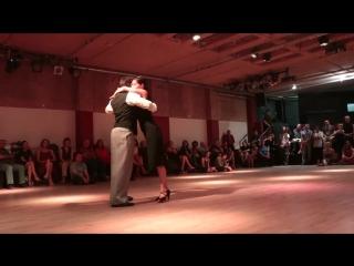 """Mariela Sametband Guillermo """"El Peque"""" Barrionuevo in Israel - 5⁄5 - Tango - 29⁄06⁄2016"""