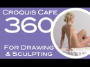 Croquis Cafe 360: Drawing & Sculpture Resource, Simone #18