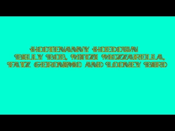 Hootenanny Hoedown (Rock-Afire Explosion) Audio