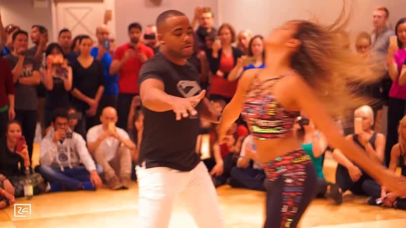 Khalid - Coaster Dance   Zouk   Carlos da Silva Fernanda da Silva   Boston Brazil Festival 2017