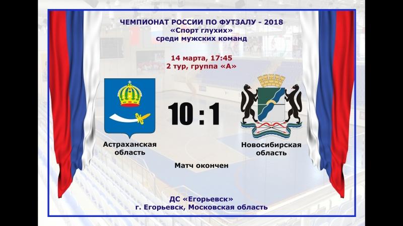 Астраханская область - Новосибирская область