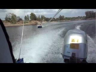 лодка Крым двигатель HONDA 50 на ватрушке 2012