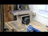 ленточно-шлифовальный станок из фанеры