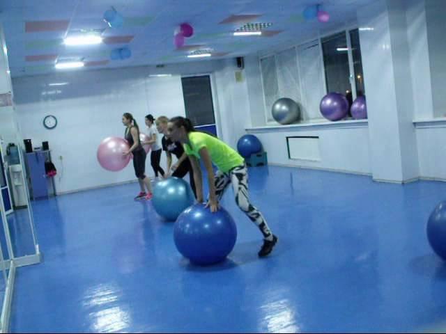 Кардио тренировка с фитболом Свелана Сотник 18-10-16