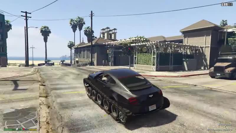 Bentley как у Академика на ГУСЕНИЦАХ в GTA 5! ГТА 5 МОДЫ